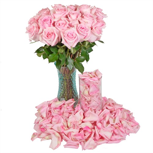 Romance Roses and Petals Combo