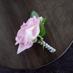 Wedding Flower Packs Boutonniere and Corsages Roses Light Pink