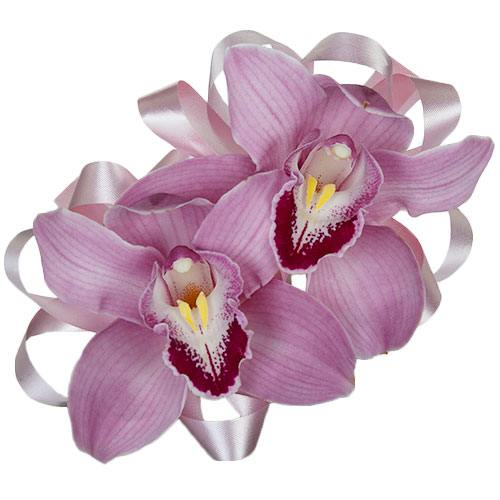 Double Orchid Corsages