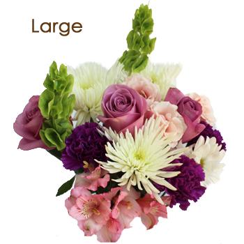 Flower Centerpiece Mauve Purple
