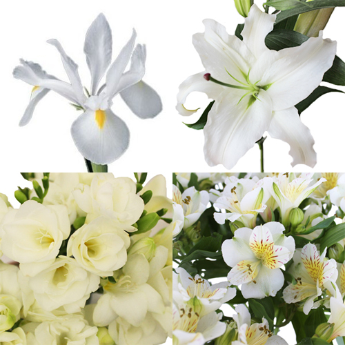 Lily Love Wedding Flower Box