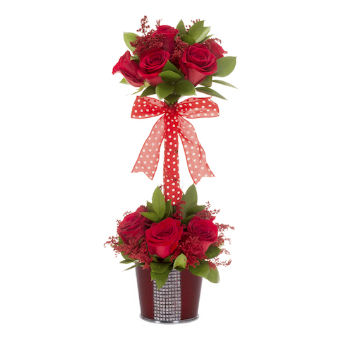Love on the Rise Valentines Arrangement