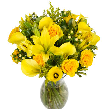 Mellow Yellow Centerpiece