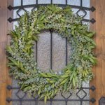 Mixed Eucalyptus Bayleaf Wreath Delivery
