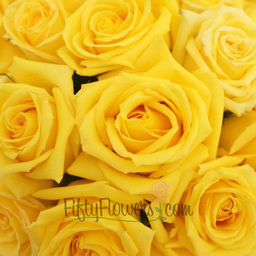 Mohana Yellow Fresh Cut Roses