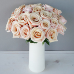 Mother of Pearl Roses Table Centerpiece