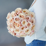 Mother of Pearl Roses Wedding Bouquet