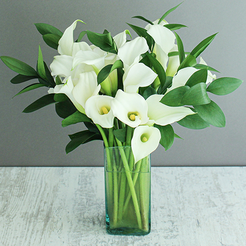 Mother's Day White Flower Bouquet