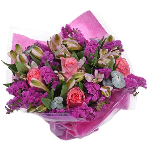 Monochromatic Pink Bouquetta Centerpieces