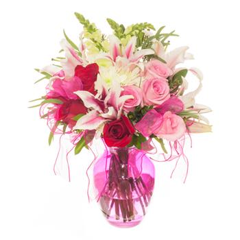 Pretty in Pink Valentines Arrangement