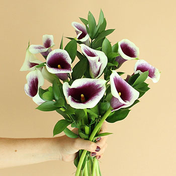 Mother's Day Calla Lily Flower Bouquet