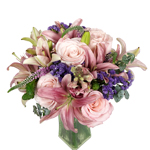 Purple Pink Fantasy Wedding Centerpieces
