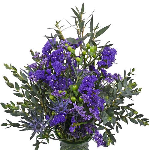 Purple People Eater Fresh Flower Centerpiece
