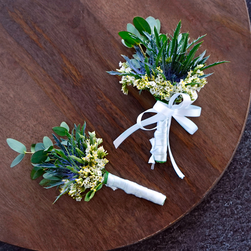 Wildflower Boutonniere and Corsage Pack