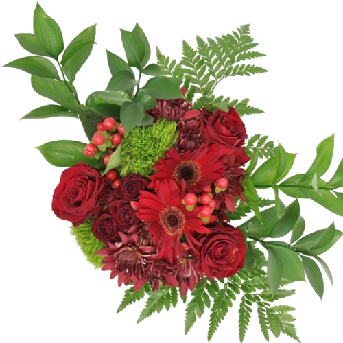 Red Classic Wedding Centerpieces