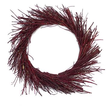 Red Dogwood Wreath