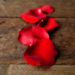 Red Real Rose Petals