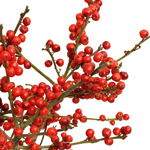 Wedding greenery red ilex berry branches filler flowers sold near me