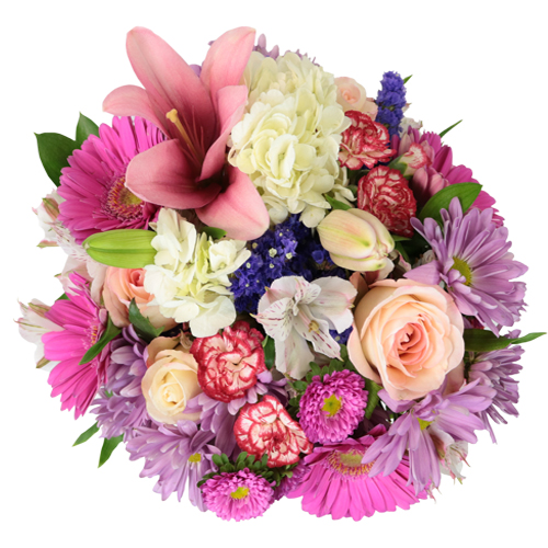 Pink Charm Bridal Centerpieces