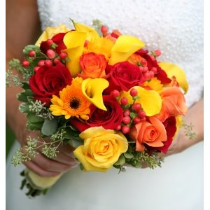 DIY Flower Combo 100 Roses 50 Mini Callas and 60 Gerbera Daisies