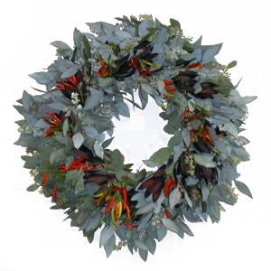 Safari Sunset and Peppers Wreaths