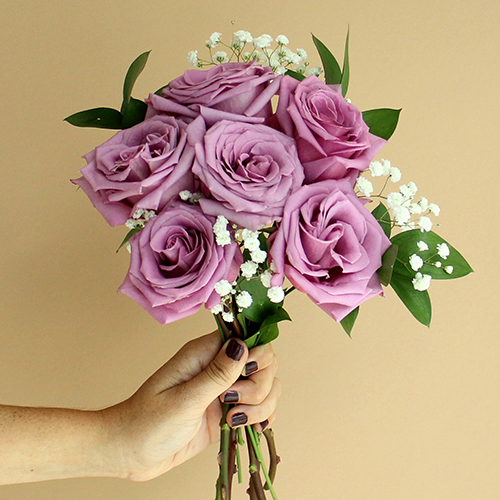 Mother's Day Six Roses Bouquet for Gifting