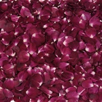 Red Dried Real Rose Petals