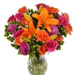 Splash of Color Fresh Floral Arrangement