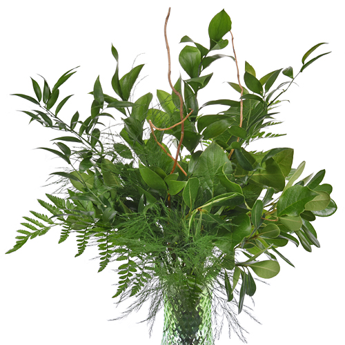 Textured Greens Centerpiece