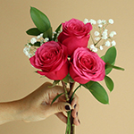 Mother's day color rose bouquet free wholesale flower delivery