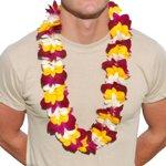 Hawaiian Lei Delux Tri Color