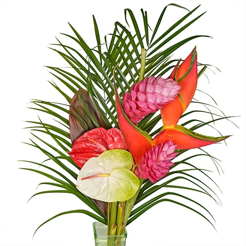 Beach Blanket Tropical Centerpiece
