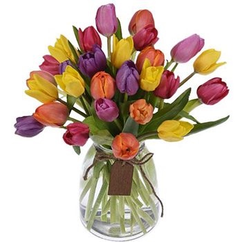 Love Languages Valentines Day Tulips