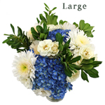 Sunflowers and Green Flowers Bridal Centerpieces