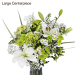 Fresh White Flowers Wedding Decor