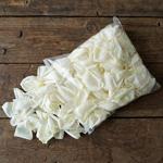 White dried Garden Rose Petals