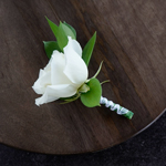 Wedding Flower Packs Boutonniere and Corsages Roses White