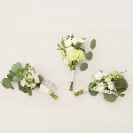 Wedding Flower Boutonniere and corsages
