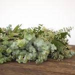 Mixed Eucalyptus Bayleaf Wreath Wholesale