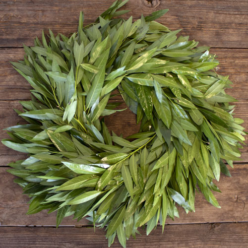 Fresh Bay Leaf Wreaths