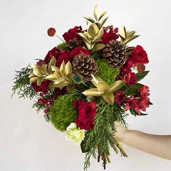 Jingle Bells Traditional Holiday Bouquet