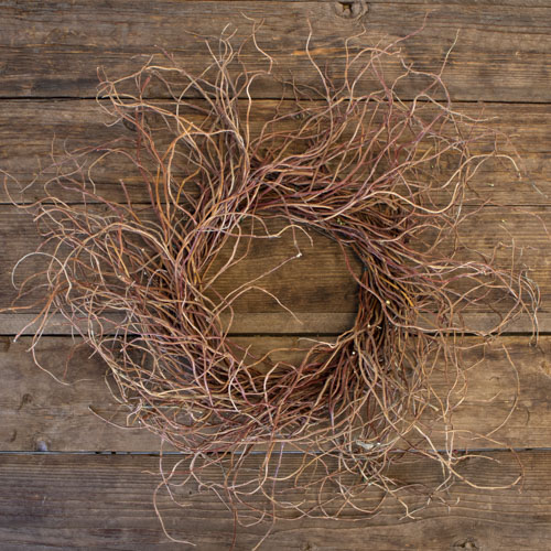 Curly Willow Country Home Wreath