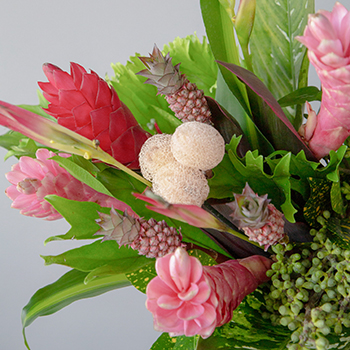 Pink Pineapple Tropical DIY Flower Collection