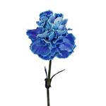 Elite Blue Tinted Carnations side stem