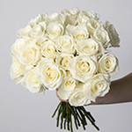 White rose wholesale wedding flowers