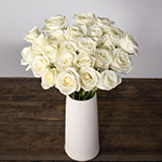 White rose flowers for delivery