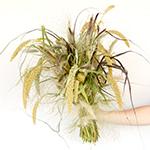 Fall Ornamental Grass Wholesale DIY Flower Kit In a Hand