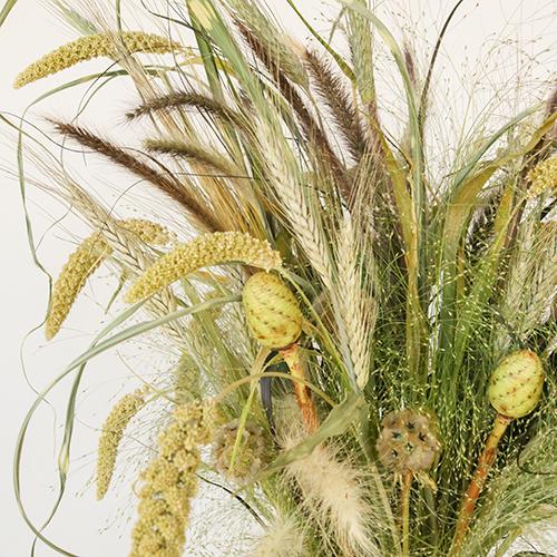 Fall Ornamental Grass DIY Flower Kit Up Close