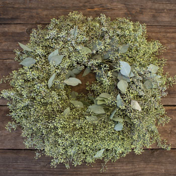 Seeded Eucalyptus Fresh Wreaths