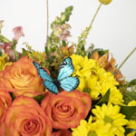 Enchanting Sunset Yellow DIY Flower Centerpieces in a vase